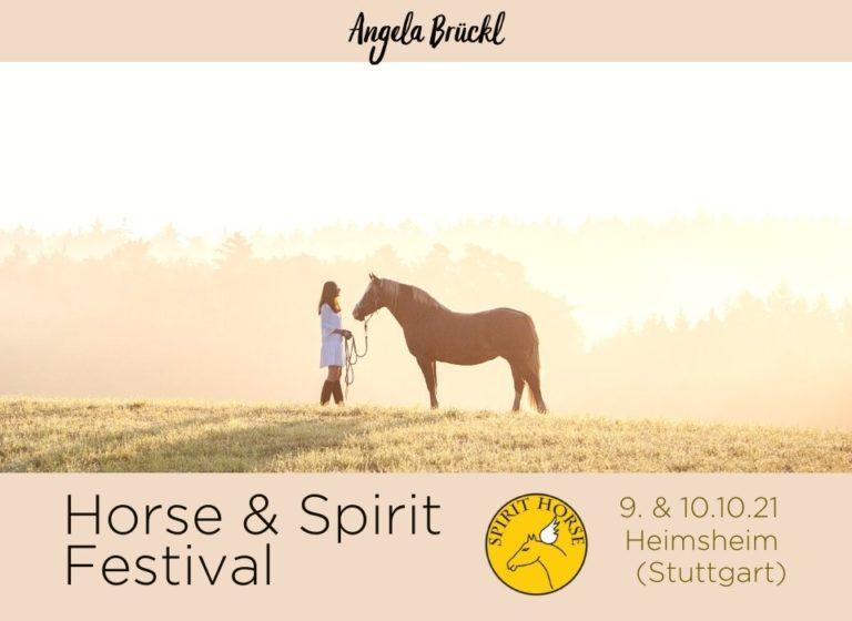 Angela Brückl Horse & Spirit Festival 2021
