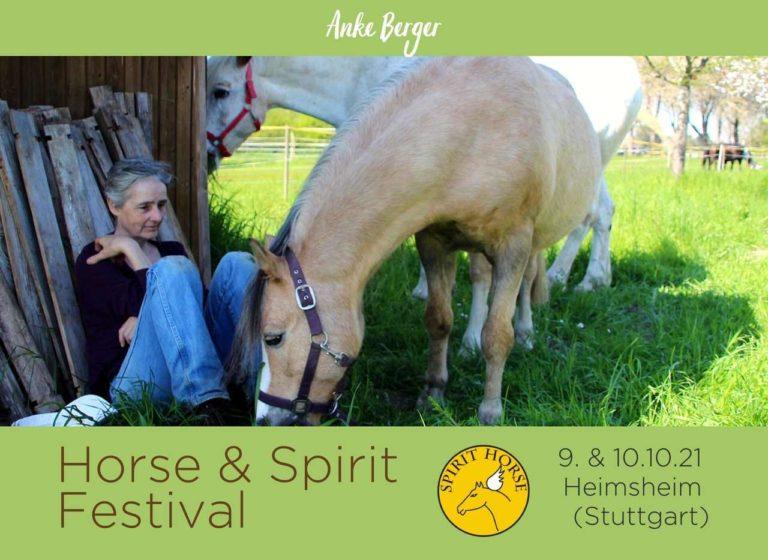 Anke Berger Horse & Spirit Festival 2021